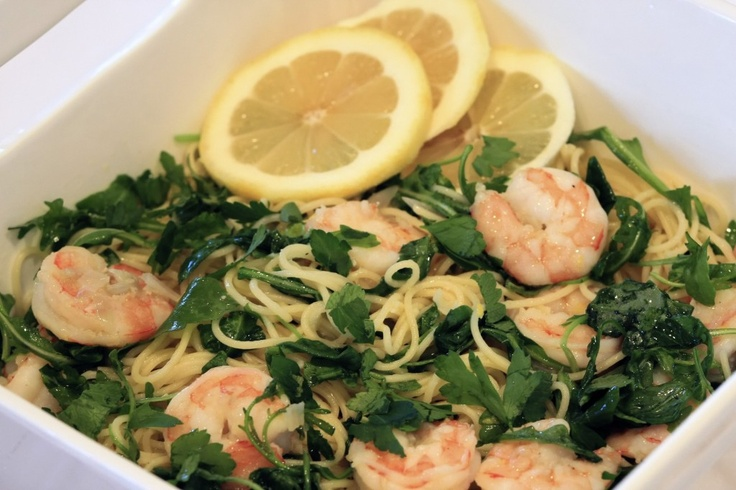 Fresh Pasta With Prawns And Lemon Oil Recipes — Dishmaps