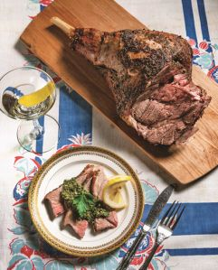 Roasted Leg Of Lamb With Mint Salsa Verde (1956) from The Way We Ate ...