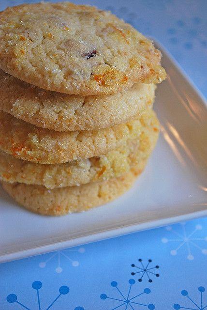 Cranberry Orange Cookies.