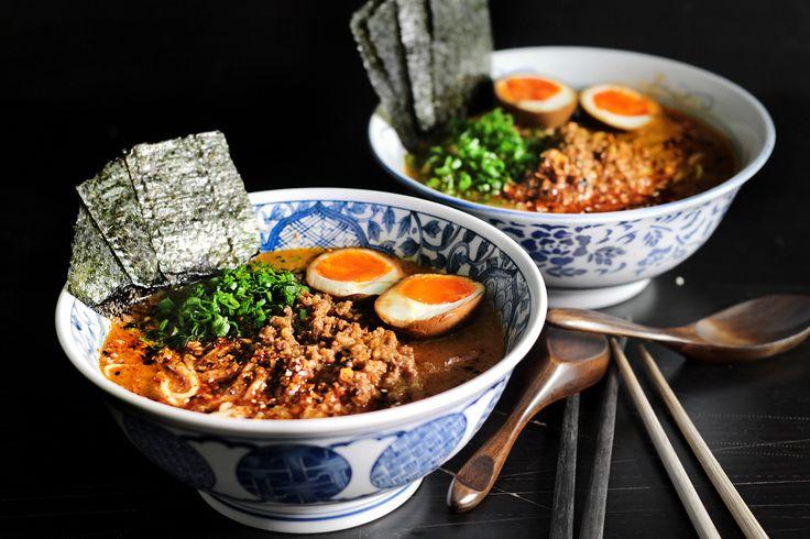 Spicy Miso Ramen | Main Course Recipes | Pinterest