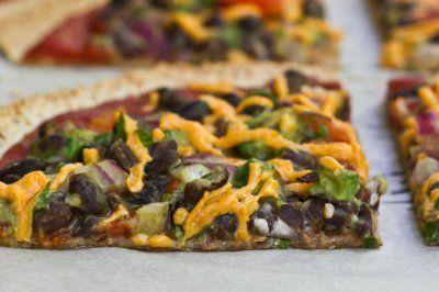 High Protein Tortilla Pizzas   food   Pinterest