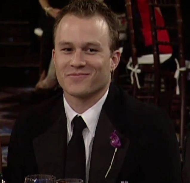 Golden Globe Awards 2006 | Heath ledger | Pinterest
