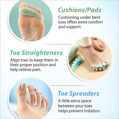 Set problem toes straight! Find top-selling solutions to help ease toe pain.