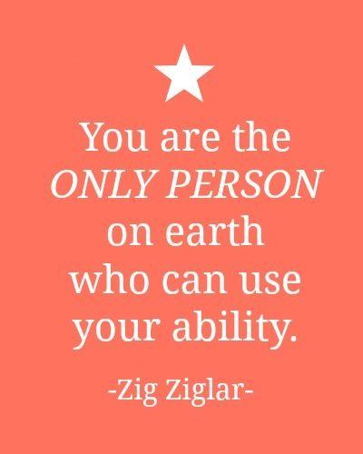 Tu eres la única persona en la tierra que puede usar su habilidad - You are the driver of your career
