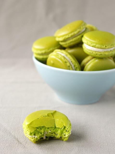 Pistachio Macarons | Yummy | Pinterest