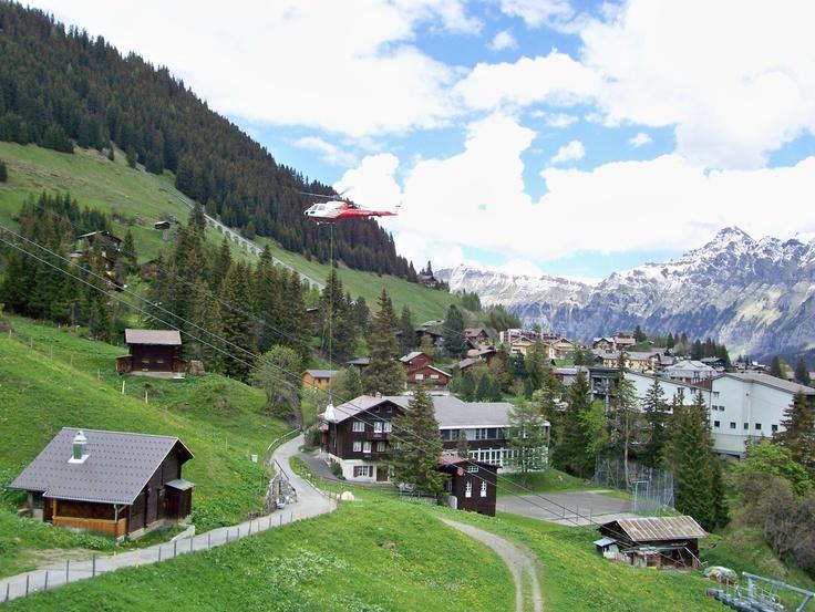 Murren Switzerland  city pictures gallery : Near Murren, Switzerland | Places I've Been | Pinterest
