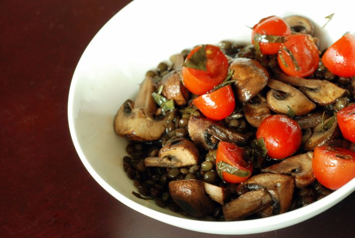spanish lentils and mushroom stew | Soups, Stews, and Chilis | Pinter ...