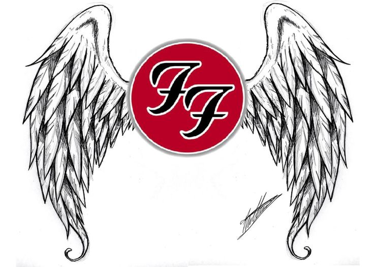 the gallery for foo fighters logo tattoo. Black Bedroom Furniture Sets. Home Design Ideas
