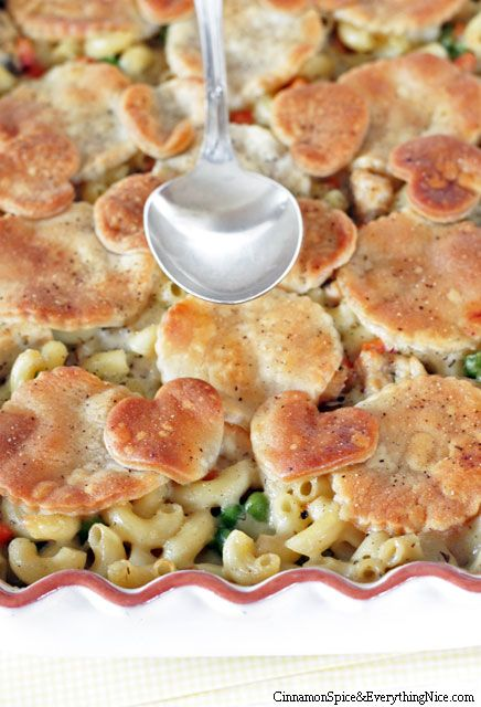 Baked Chicken Pot Pie Pasta @Helen p here you go!! it works this time ...