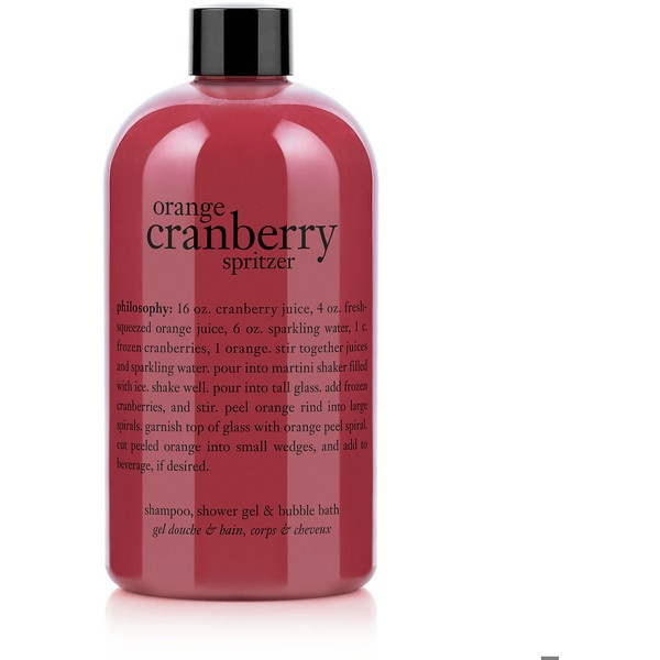 philosophy Cranberry Orange Spritzer Shampoo, Shower Gel & Bubble Bath ...