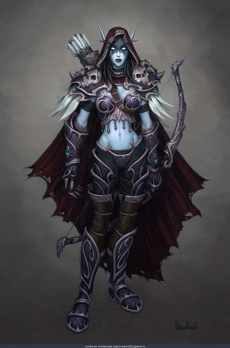 Sylvanas world of warcraft hmv 3