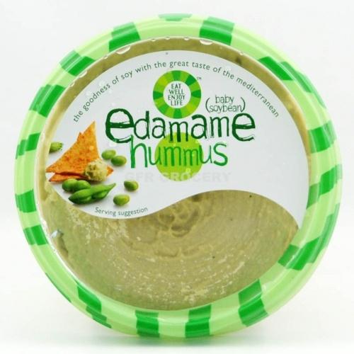 ... from beans other than garbanzo: edamame, yellow lentil & white beans