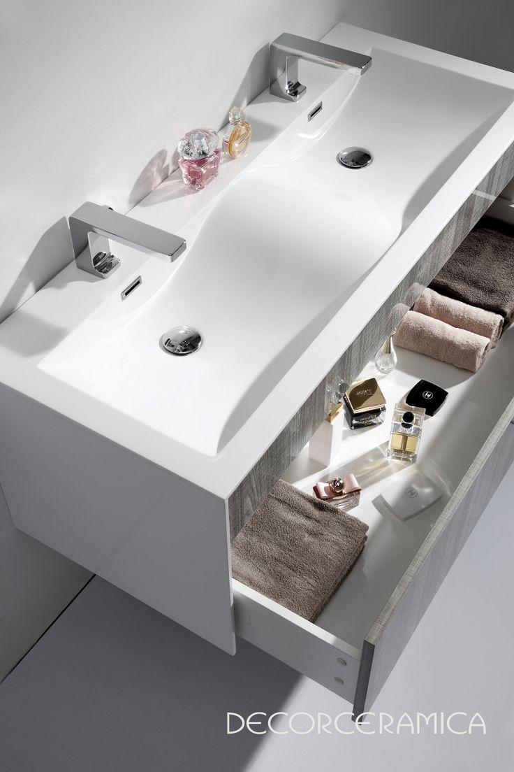 Muebles Para Baño Klipen:Wall Mount Bathroom Vanity