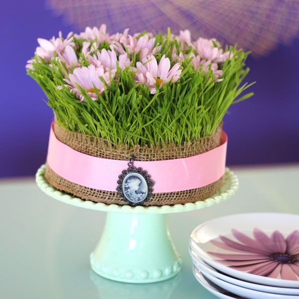 The wonders of wheatgrass 5 decorating ideas for your spring table