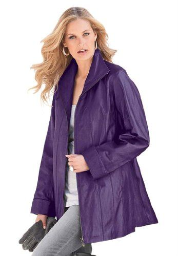 42% Off was $330.51, now is $190.51! Roamans Women`s Plus Size Leather