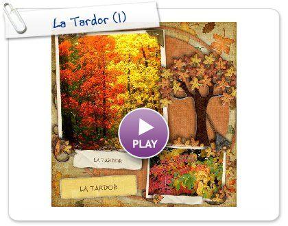 Petit llibre digital amb imatges de la tardor.