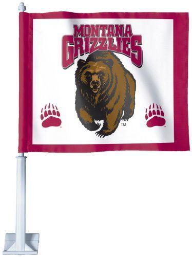 montana flag and pole