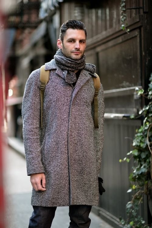 coat | Men's Winter Fall Style Fashion