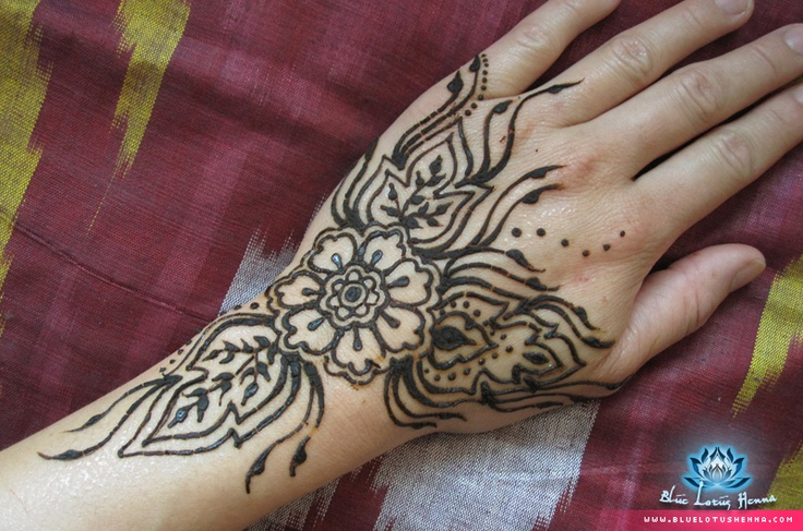 Mehndi Lotus Designs : Blue lotus henna galleries mehndi designs pinterest