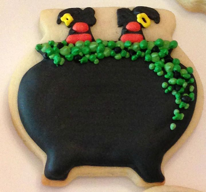 Witch's Brew Cookies Recipe — Dishmaps
