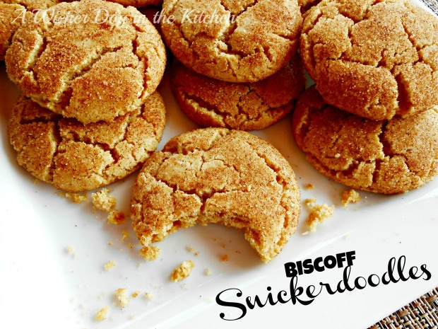 biscoff snickerdoodles a classic snickerdoodle cookie with the rich ...