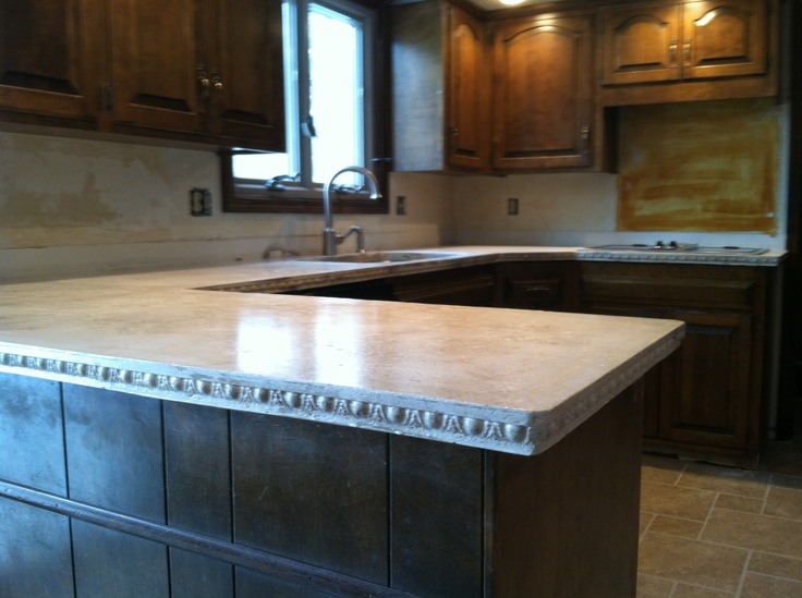 Concrete Countertop Edge Designs : concrete countertops