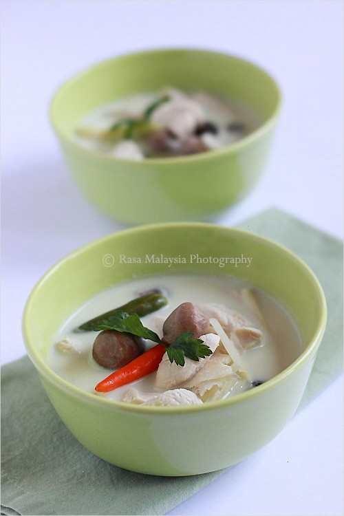TOM KHA GAI RECIPE (THAI COCONUT CHICKEN SOUP)