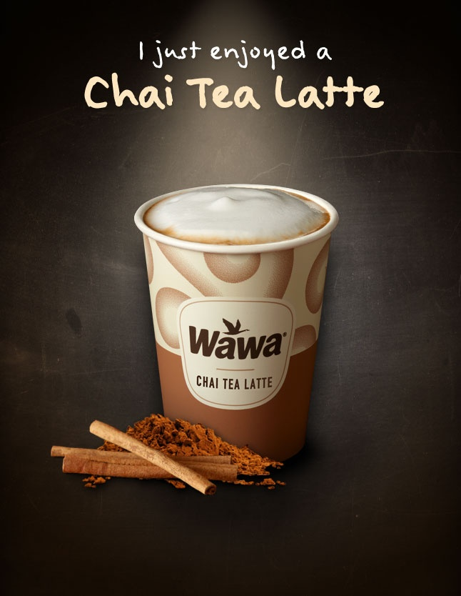 Wawa Hot & Iced Beverages:Chai Tea Latte | Food and Drink Ideas | Pin ...