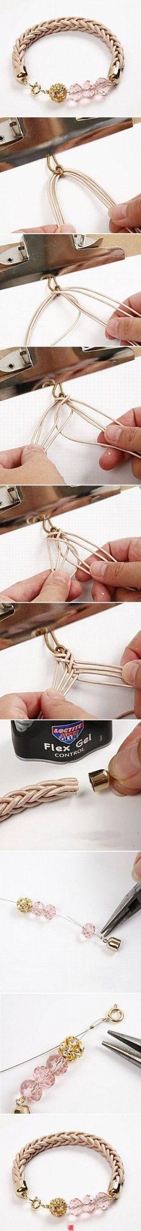 фото мастер-класс по плетению объемного шнура