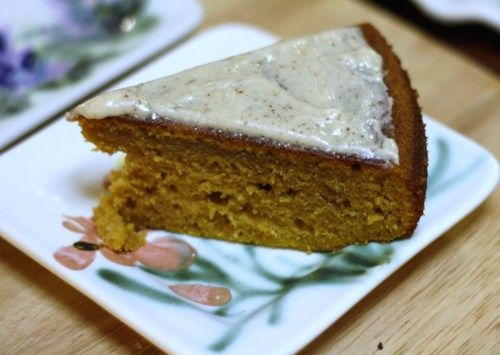Pumpkin Cake with Brown Butter Icing | Yum! | Pinterest