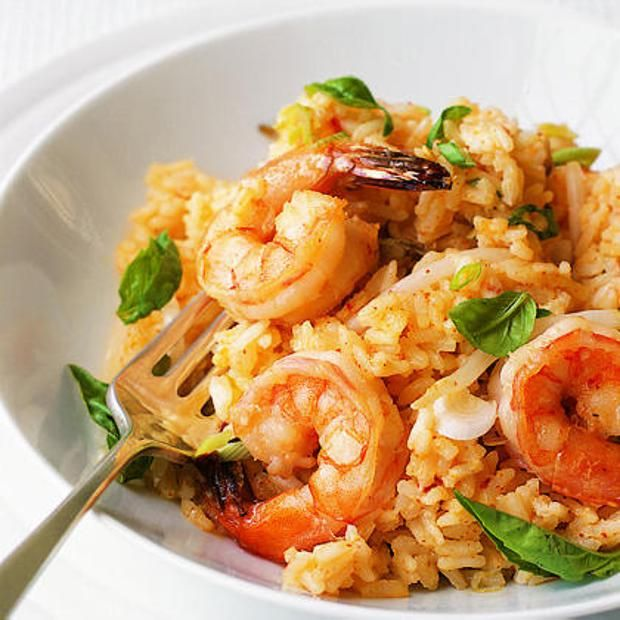 Chili Shrimp And Coconut Risotto | Food and Drink | Pinterest