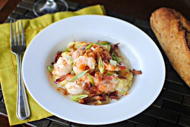 Simply Scratch » Low-country Shrimp and Grits from Jenna Weber's ...