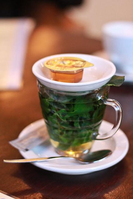 fresh mint tea | Drinks | Pinterest
