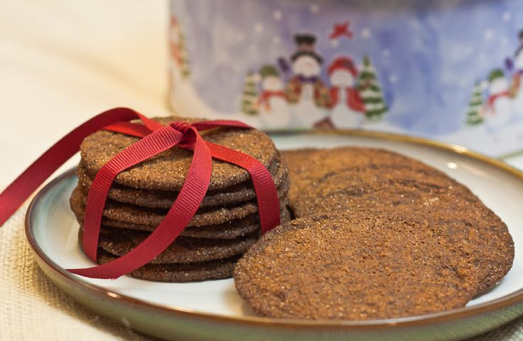 Ginger Molasses Cookies | Cupcakes | Pinterest