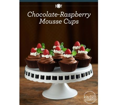 Chocolate-Raspberry Mousse Cups! What's Your Favorite Chocolate Combo?