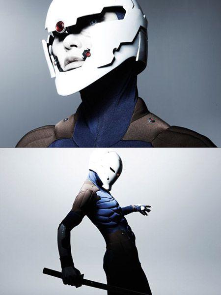 Gray fox costume