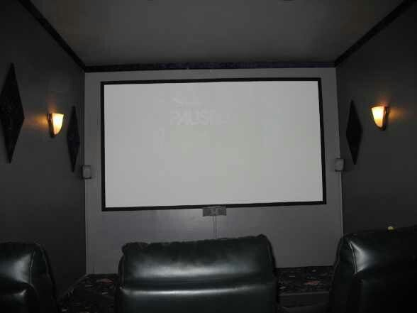 Small spaces theatre room joy studio design gallery for Small theater room ideas