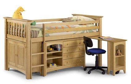 bed & desk combo  Childrens Room Ideas  Pinterest