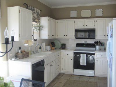 with white color colors paint kitchen cabinets white walls brown