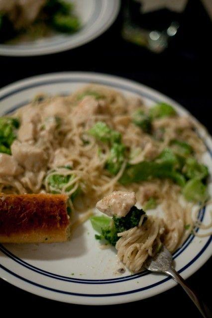 Shortcut Chicken and Broccoli Alfredo | Recipe