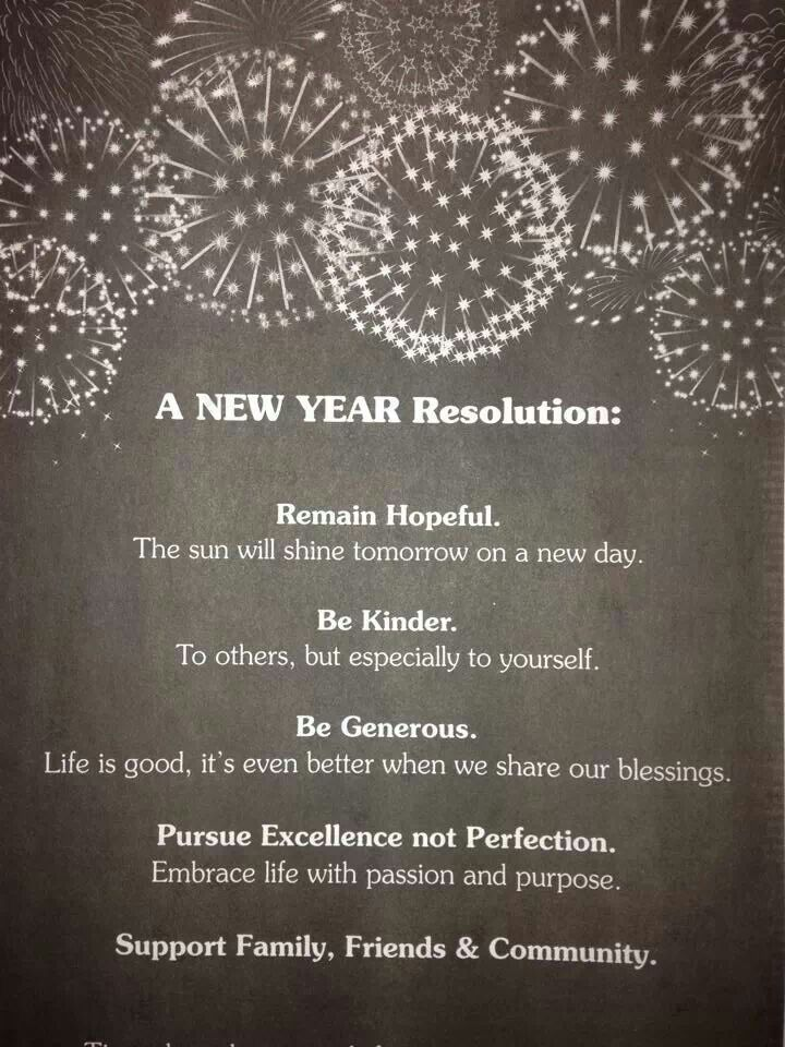 My New Year's resolution | Posters I love! | Pinterest