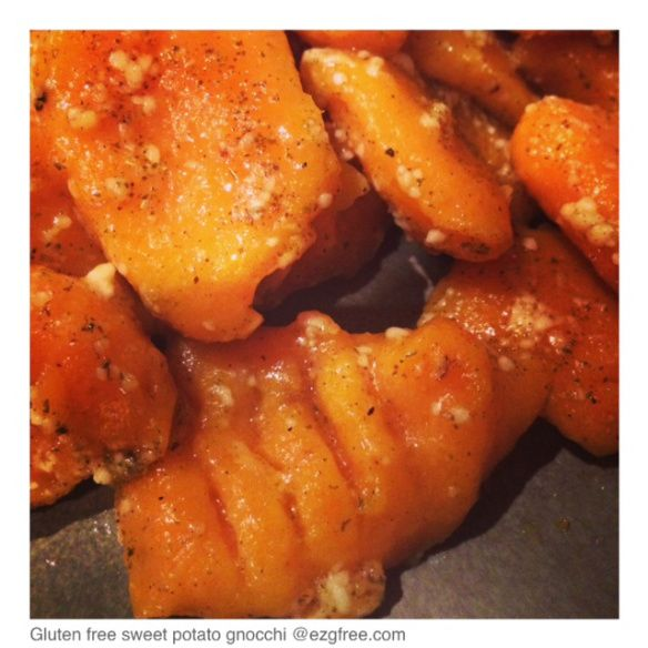 Gluten-free sweet potato gnocchi | Recipes | Pinterest
