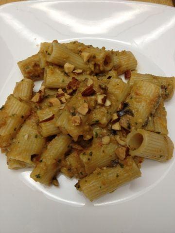 Rigatoni with Eggplant Purée | Meatless | Pinterest