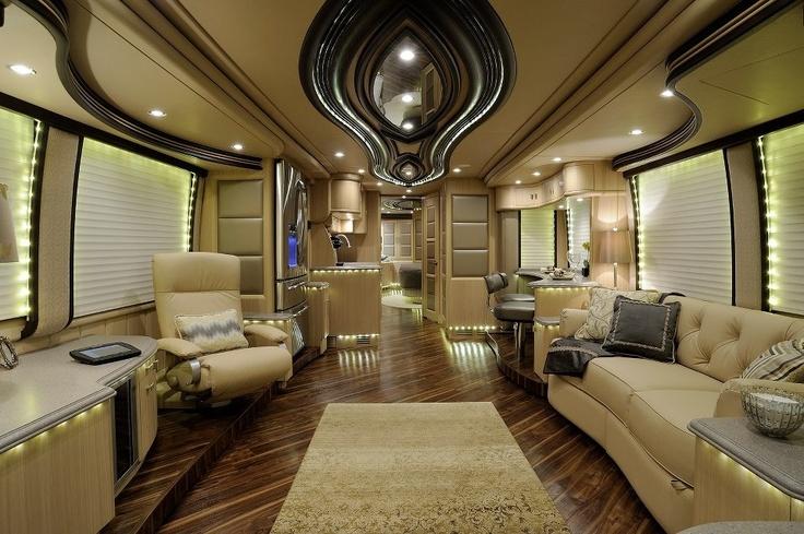 Custom Interior Coach Best Rated Sprinter Vans Pinterest