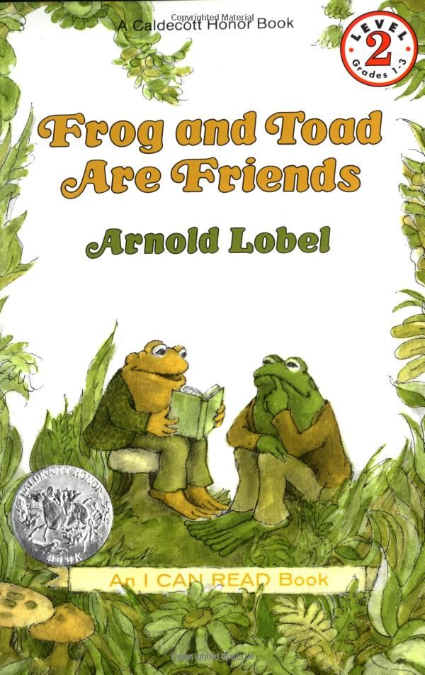 Frog and Toad are what friendships are made of. I love these