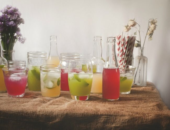 Recipes for Honey Lemonade with Hibiscus and Thyme, Peach Iced Tea ...