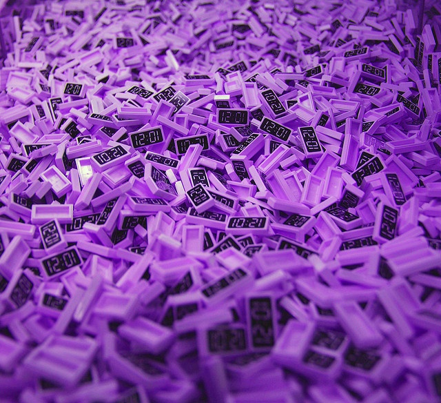 Purple lego bricks via flickr legos pinterest for Purple brick wallpaper