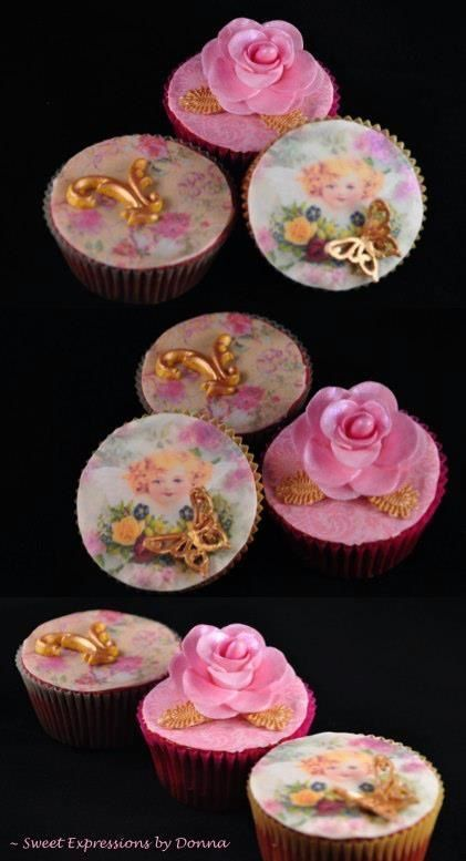 Hand painted Old Fashion Cupcakes | Cup Cakes - CupCake Wife | Pinter ...