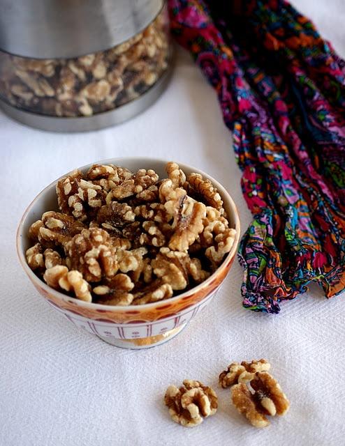 Candied Walnuts / Maple Glazed Walnuts | Favorite Recipes | Pinterest