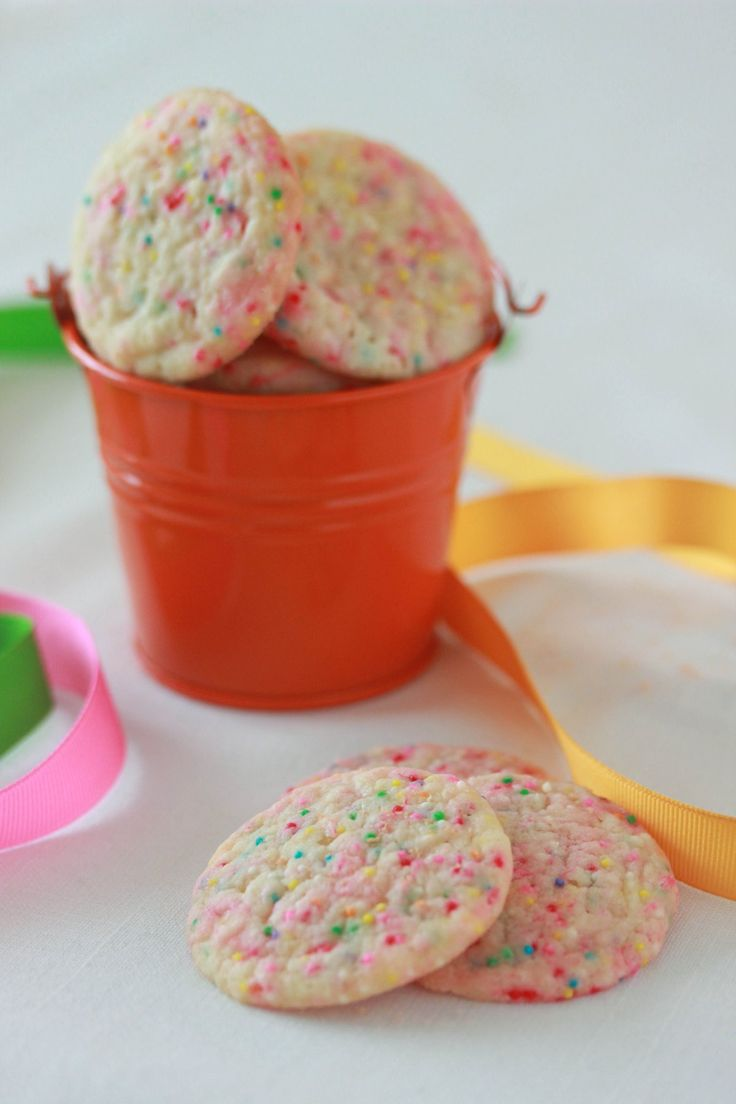 Confetti Cookies | Desserts | Pinterest